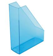 Stehsammler H23614-30 The Tower 85x240x322mm C4 Polystyrol blau-transparent 2 Stück