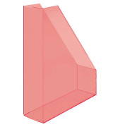 Stehsammler H23614-20 The Tower 85x240x322mm C4 Polystyrol rot-transparent 2 Stück