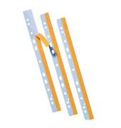 Abheftstreifen 8804-50, selbstklebend, Kunststoff, transparent, 50 Stück