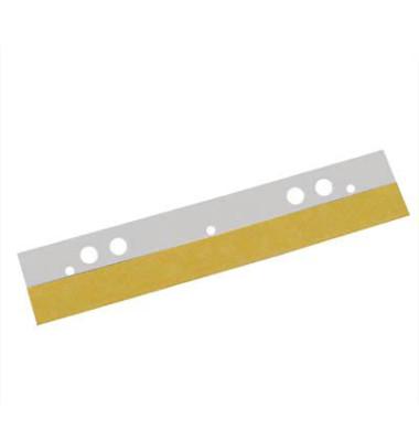Abheftstreifen 8802-50, selbstklebend, Kunststoff, transparent, 50 Stück