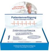 Patientenverfügung 2895 mit allen notwendigen Formularen weiß