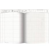 Waren- und Rechnungseingangsbuch 30032 Einteilung nach Gruppen A4 30 Blatt / 60 Seiten
