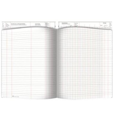 Waren- und Rechnungseingangsbuch 30053 A4 40 Blatt / 80 Seiten