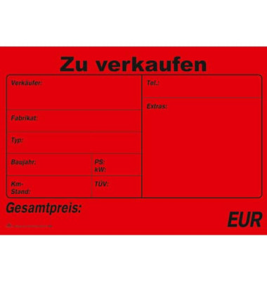 Kaufvertrag universal A4 SD