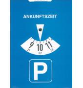 Parkscheibe Karton 11x15cm