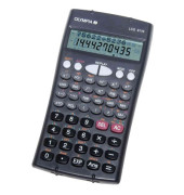 Schulrechner LCD-8110 Batterie LCD-Display anthrazit 2-zeilig 12/10-stellig