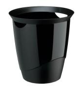 Papierkorb TREND 16 Liter schwarz