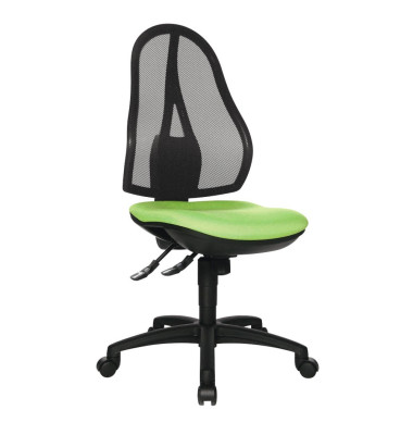 Bürodrehstuhl Open Point SY ohne Armlehnen apfelgrün