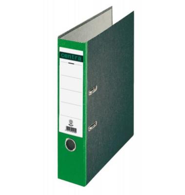 22012 Ordner A4 Wolkenmarmor Rücken grün 80mm breit