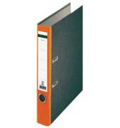 22112 Wolkenmarmor orange Ordner A4 52mm schmal