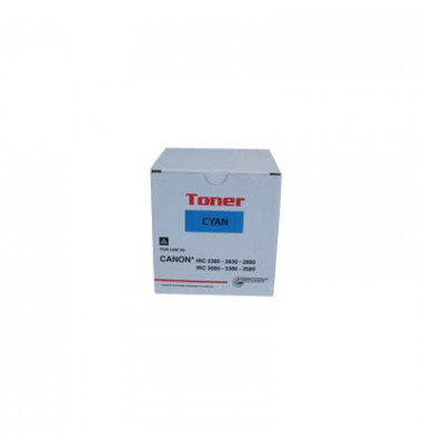 Toner cyan ersetzt Canon C-EXV 21 C