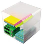 Organiser-System CUBE glasklar einzelne Trennung