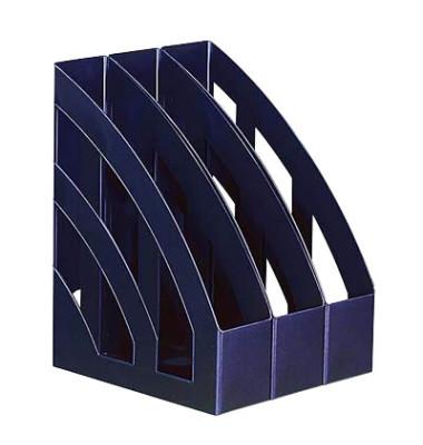 Stehsammler H23655-34 76x245x320mm A4 Polystyrol blau