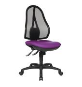 Bürodrehstuhl Open Point SY ohne Armlehnen violett