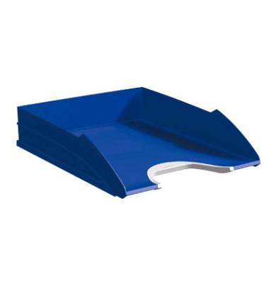 Briefablage Vegas A4 / C4 silber/blau stapelbar
