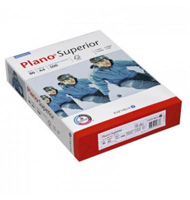 Superior 2-fach gelocht A4 80g Kopierpapier hochweiß 500 Blatt