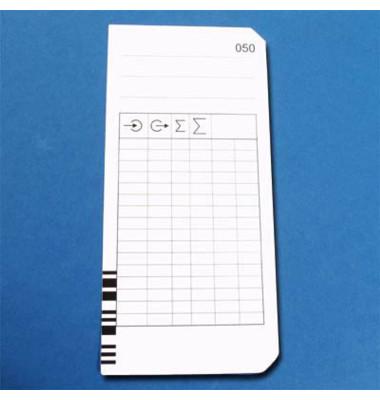 Stempelkarten Typ 2-4