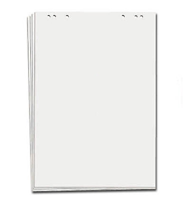 Flipchartblock blanko 5 Stück