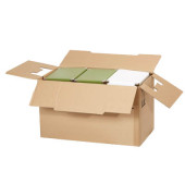 Faltkartons 66 x 36,1 x 40cm braun 10 Stück Wellpappe