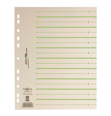 Trennblätter EasyRip A4 chamois/grün 225g 100 Blatt