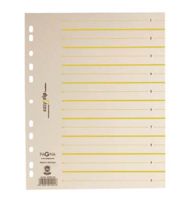 Trennblätter EasyRip A4 chamois/gelb 225g 100 Blatt