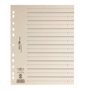 Trennblätter EasyRip A4 chamois/grau 225g 100 Blatt
