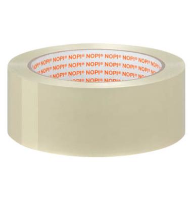 Packband Universal 57950-00000-00, 38mm x 66m, PP, leise abrollbar, transparent