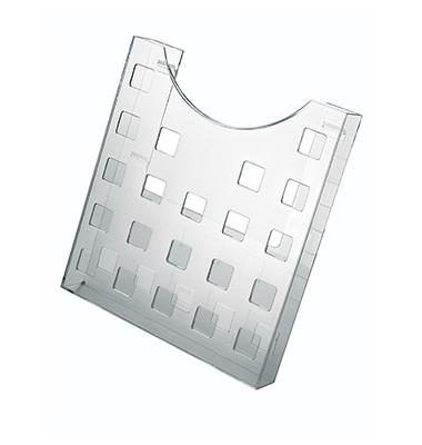 Prospekthalter H6102502 glasklar DIN A4