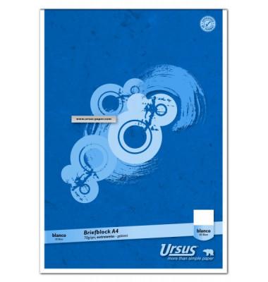Briefblock Basic A4 weiß blanko 50 Blatt