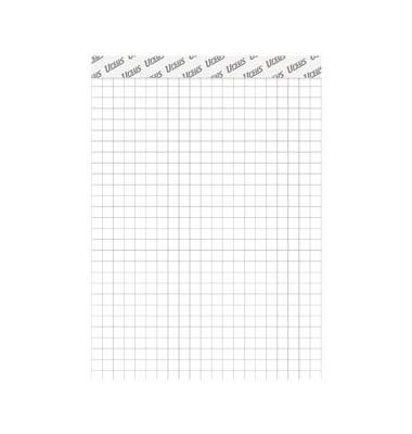 Notizblock Basic A4 weiß kariert 48 Blatt