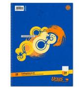 Collegeblock Basic 40480025, A4 kariert, 70g 80 Blatt, 4-fach-Lochung