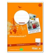Vokabelheft Basic A4 Lineatur 54 liniert 3 Spalten weiß 40 Blatt