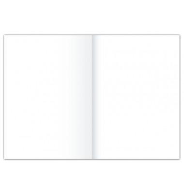 Kanzleipapier A3 auf A4 gefalzt blanko ohne Rand weiß 250 Blatt