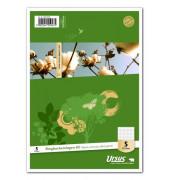 Ringbucheinlagen Style 040570020 kariert A5 6-fach gelocht 70g 50 Blatt
