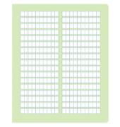 Rechenheft R.2 Quart kariert mit Rahmen weiß 20 Blatt