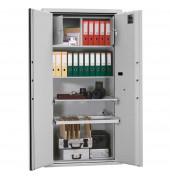 Tresor IX K1 701 l Doppelbart-Sicherheitsschloss grau