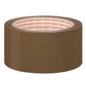 Packband 57953 50mm x 66m braun PP