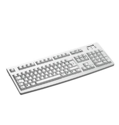 Tastatur G83-6105 lichtgrau mit USB-Anschluss