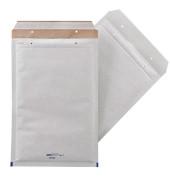 Luftpolstertaschen Double No.7 A4 haftklebend grauweiß innen: 220x335mm 50 Stück