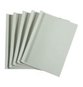 Thermobindemappen Premium 6,0 mm Rückenbreite weiß 40-55 Blatt
