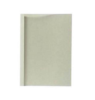 Thermobindemappen Lederstruktur 1,5mm Rückenbreite grau 5-15 Blatt
