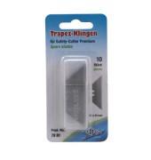 Cutter-Ersatzklingen Trapez 7881 19mm breit 10 Stück
