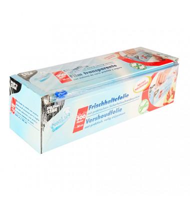 PVC-Frischhaltefolie in Box/10518 30,0 cm x 300 m transparent PVC