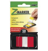 Index Haftstreifen Z-Marker Standard rot