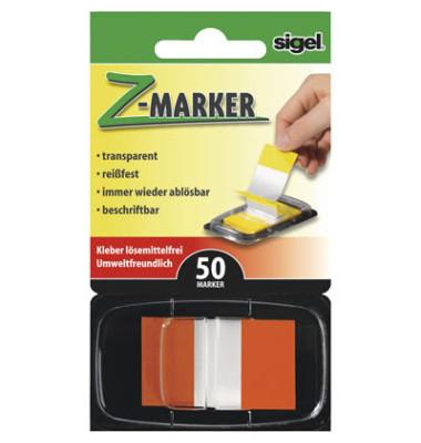 Index Haftstreifen Z-Marker Standard orange