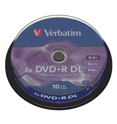 DVD+R Double Layer 10er Spindel