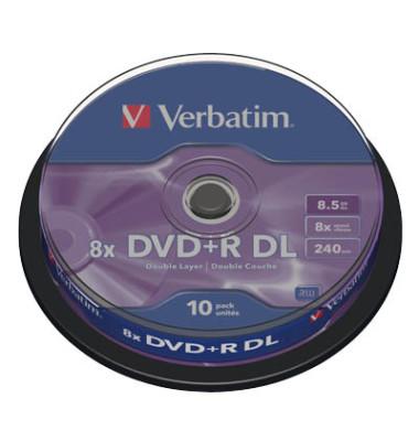 DVD+R Double Layer 10er Spindel