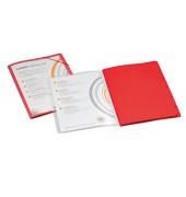 Ordnungsmappe Lucido/1400615 DIN A4 rot PP / Karton 270 g/qm