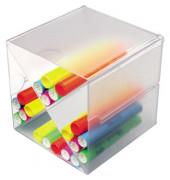 Organiser-System CUBE glasklar Trennung X