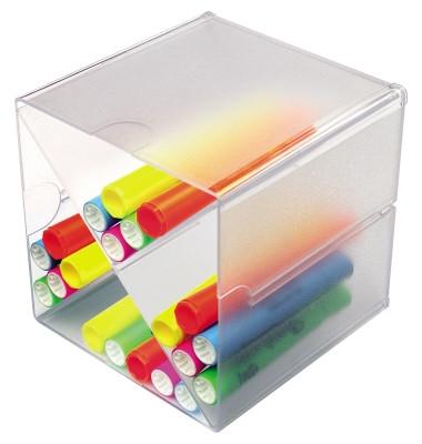 Organiser-System CUBE/DE350201 glasklar Trennung X